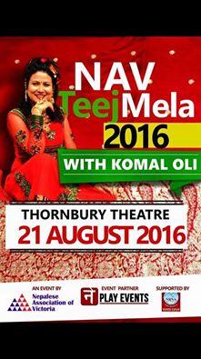 Women's Festival - Teej @ Thornbury Theater